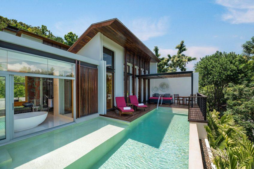 W Koh Samui Luxury Resort - Thailand - Jungle Oasis Villa Infinity Pool