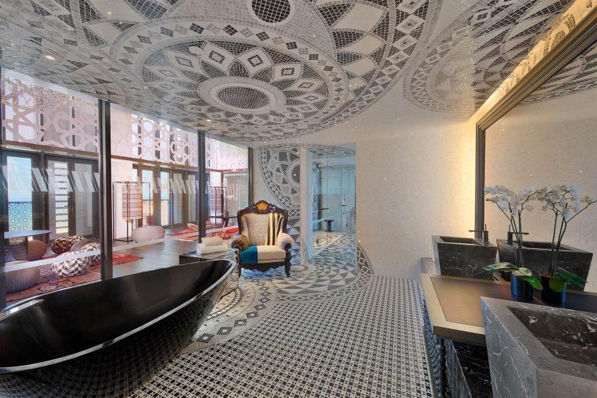 W Muscat Luxury Resort - Muscat, Oman - E WOW Suite Bathroom