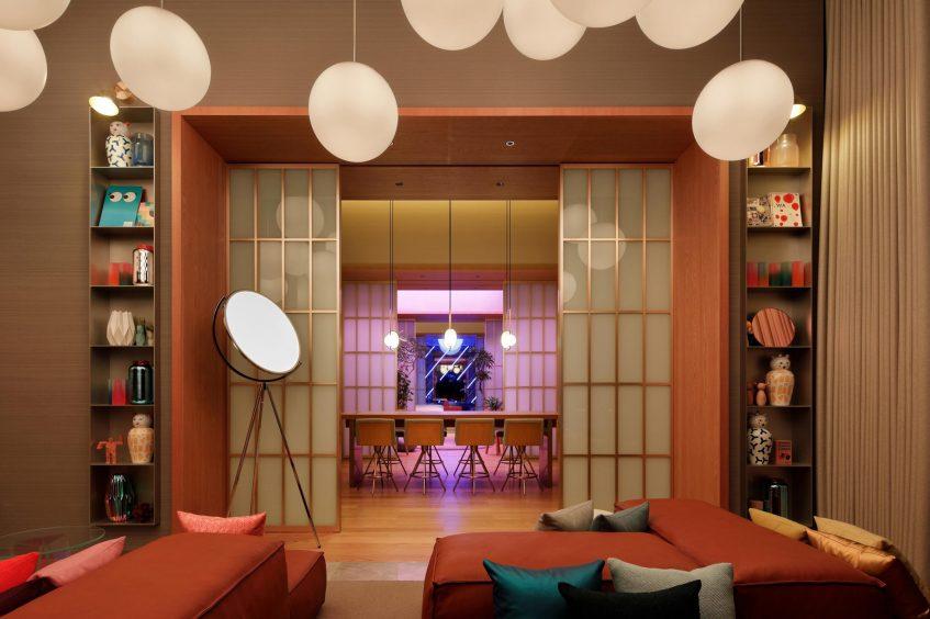 W Osaka Luxury Hotel - Osaka, Japan - Extreme WOW Penthouse Suite Room Decor