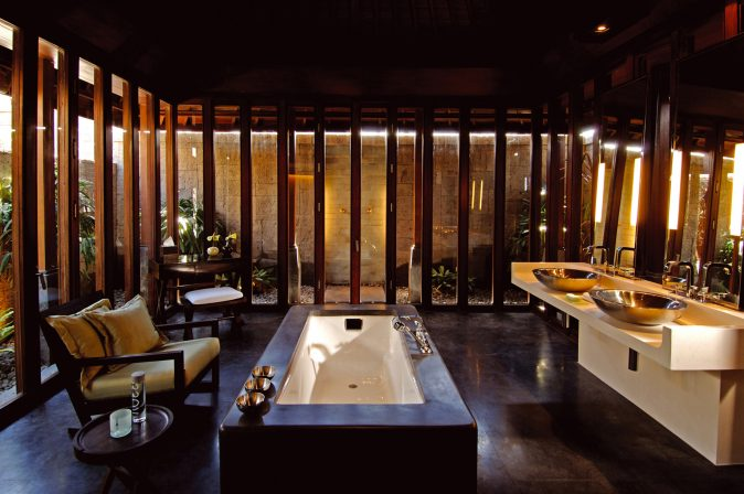 Bvlgari Luxury Resort Bali - Uluwatu, Bali, Indonesia - Ocean View Villa Bathroom