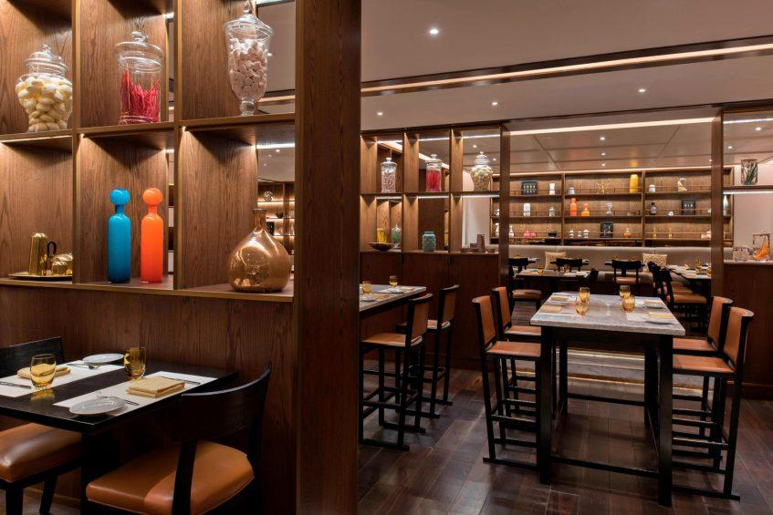 W Doha Luxury Hotel - Doha, Qatar - Market by Jean Georges Tables