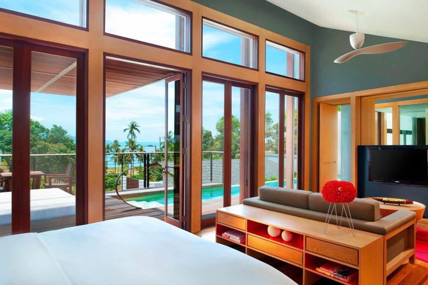 W Koh Samui Luxury Resort - Thailand - Jungle Oasis Villa Bedroom