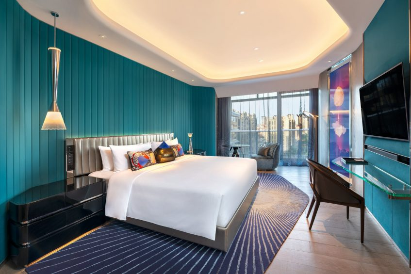 W Xi'an Luxury Hotel - Xi'an, Shaanxi Province, China - Wonderful City View Guest Room King
