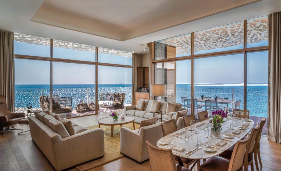 Bvlgari Luxury Resort Dubai - Jumeira Bay Island, Dubai, UAE - Bulgari Suite Living Room