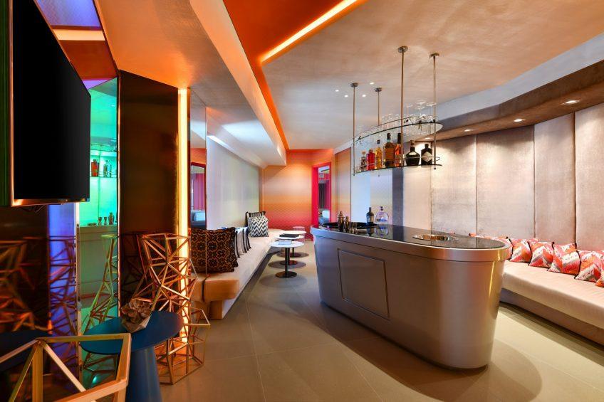 W Amman Luxury Hotel - Amman, Jordan - WOW Suite Living Room