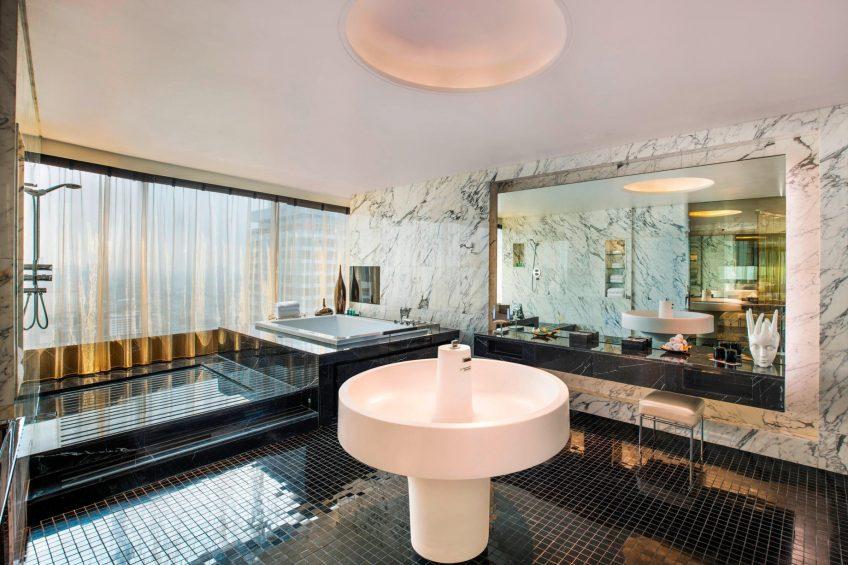 W Bangkok Luxury Hotel - Bangkok, Thailand - Extreme Wow Suite Luxe Bathroom