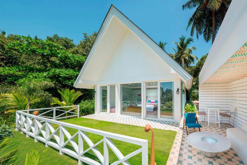 W Goa Vagator Beach Luxury Resort - Goa, India - Fantastic Garden Villa Exterior