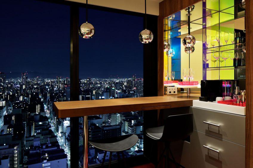 W Osaka Luxury Hotel - Osaka, Japan - Wonderful Double Room View Night