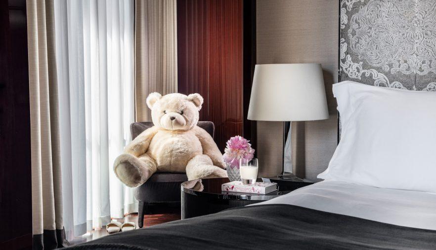 Bvlgari Luxury Hotel London - Knightsbridge, London, UK - Bvlgari Hotel Family Teddy