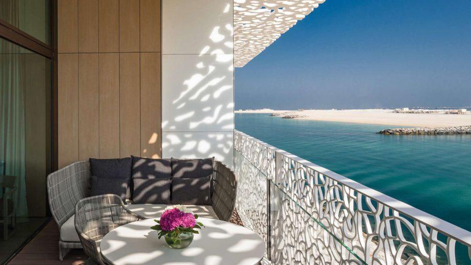 Bvlgari Luxury Resort Dubai - Jumeira Bay Island, Dubai, UAE - Guest Suite Private Deck