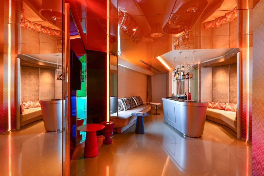 W Amman Luxury Hotel - Amman, Jordan - WOW Suite Lounge Bar
