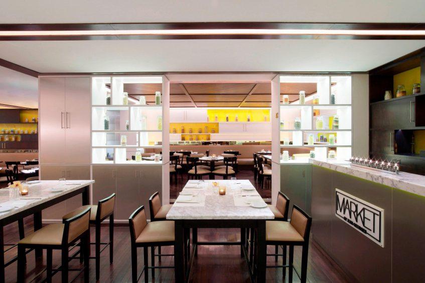 W Doha Luxury Hotel - Doha, Qatar - Market by Jean-Georges Restaurant