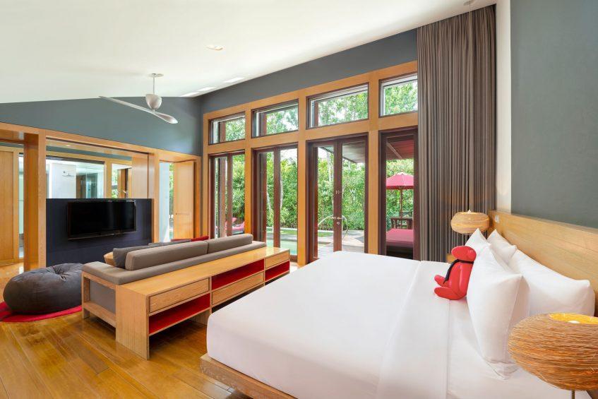 W Koh Samui Luxury Resort - Thailand - King Ocean Front Haven Villa Bedroom