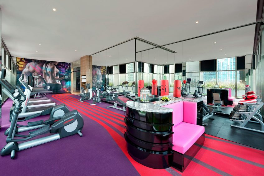 W Kuala Lumpur Luxury Hotel - Kuala Lumpur, Malaysia - FIT Gym
