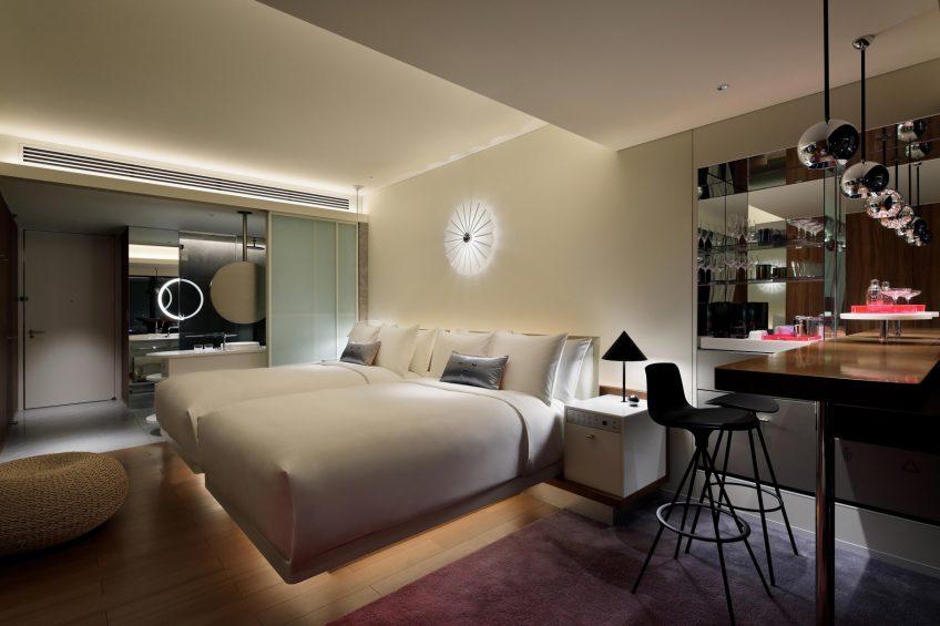 W Osaka Luxury Hotel - Osaka, Japan - Cozy Double Room