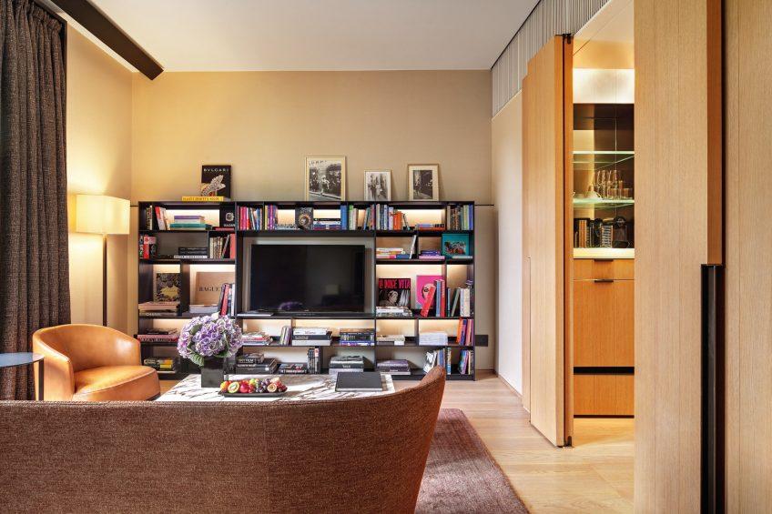 Bvlgari Luxury Hotel Milano - Milan, Italy - Guest Suite Living Room