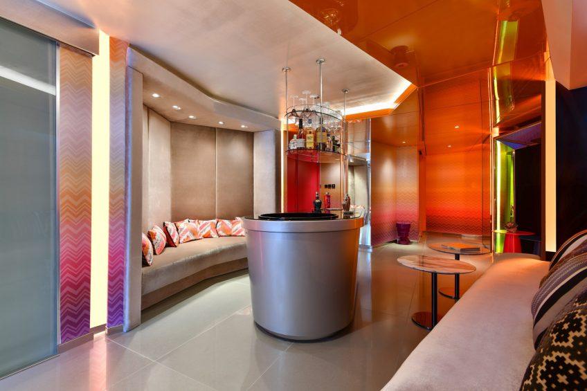 W Amman Luxury Hotel - Amman, Jordan - WOW Suite Lounge