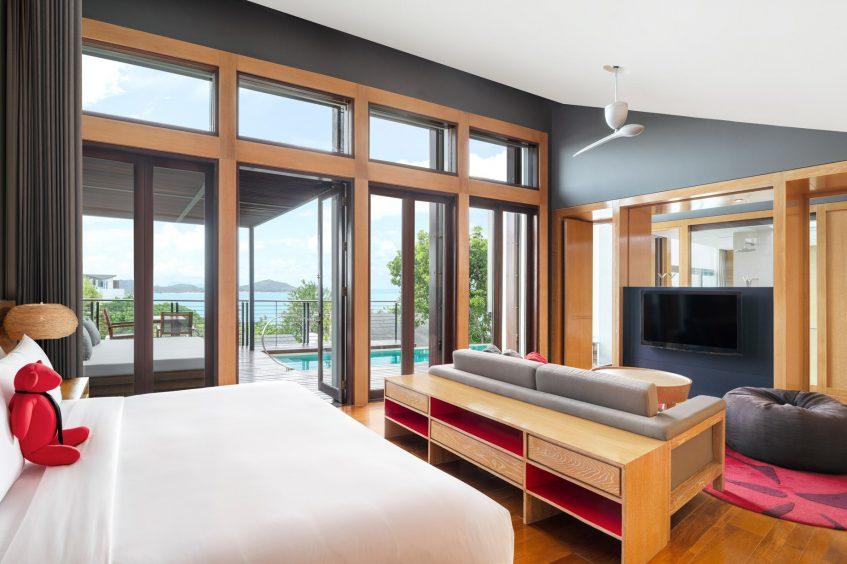 W Koh Samui Luxury Resort - Thailand - King Ocean View Escape Villa