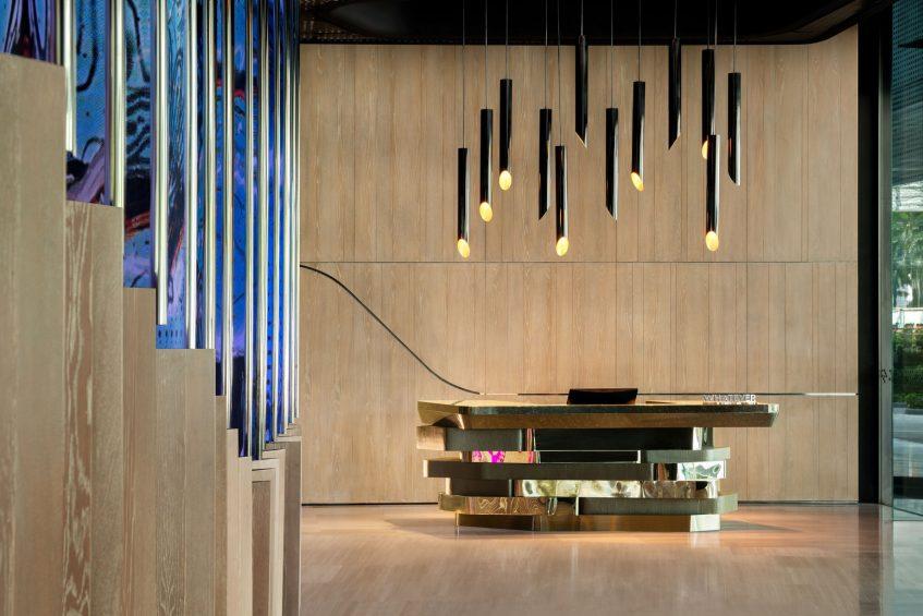 W Kuala Lumpur Luxury Hotel - Kuala Lumpur, Malaysia - Whatever Whenever Desk