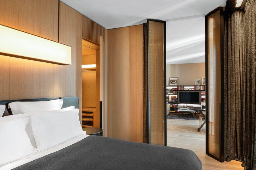Bvlgari Luxury Hotel Milano - Milan, Italy - Superior Suite Bedroom