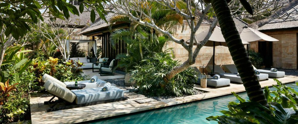 Bvlgari Luxury Resort Bali - Uluwatu, Bali, Indonesia - Ocean View Villa Pool Deck