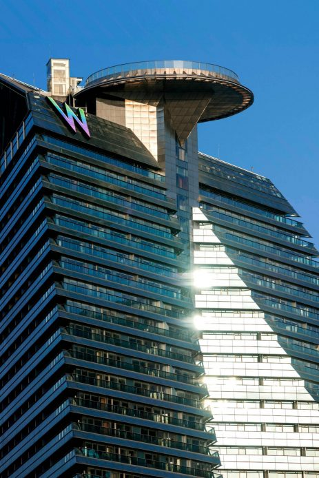 W Xi'an Luxury Hotel - Xi'an, Shaanxi Province, China - Exterior Tower