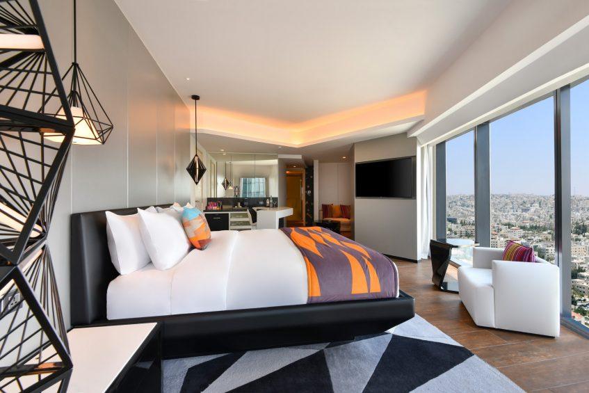 W Amman Luxury Hotel - Amman, Jordan - Cool Corner Suite King