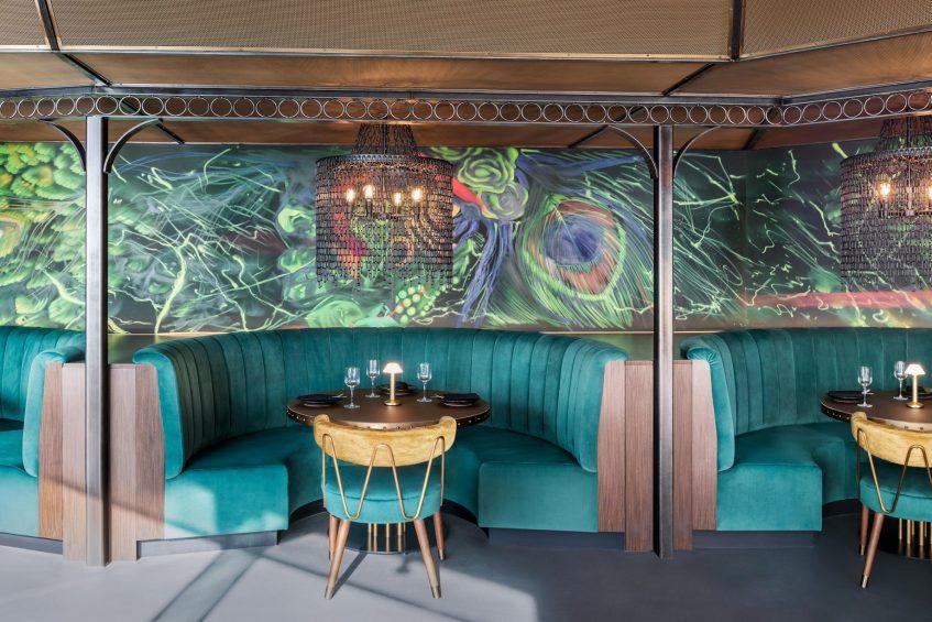 W Dubai The Palm Luxury Resort - Dubai, UAE - SoBe Seating