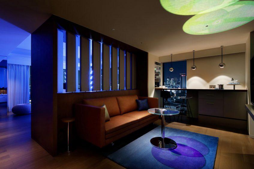 W Osaka Luxury Hotel - Osaka, Japan - Fantastic King Suite