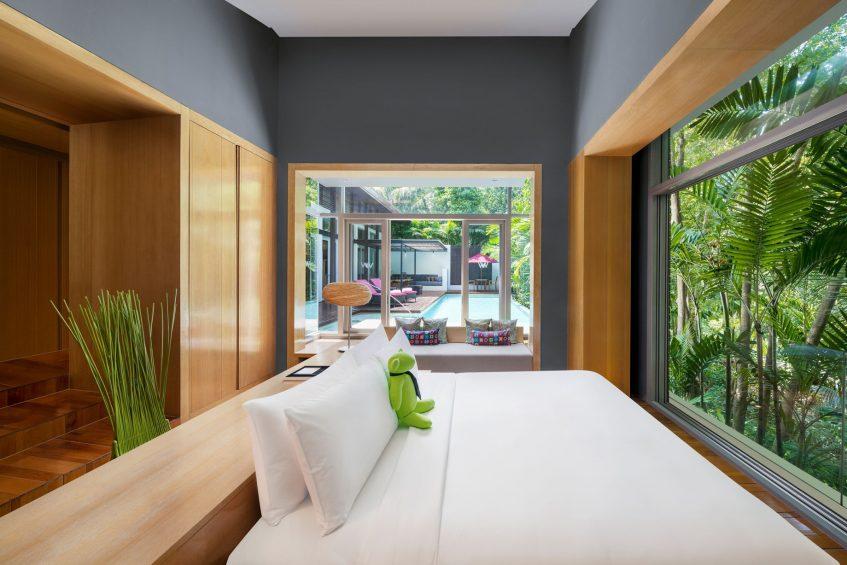 W Koh Samui Luxury Resort - Thailand - King Wow Jungle Oasis Villa