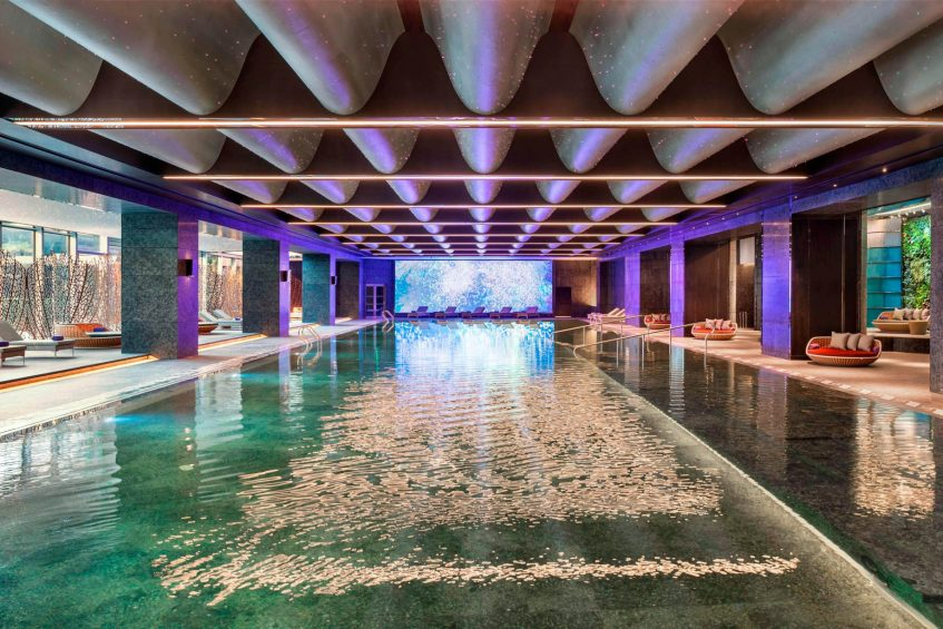 W Xi'an Luxury Hotel - Xi'an, Shaanxi Province, China - WET Indoor pool