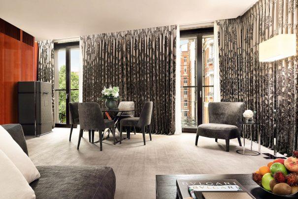 Bvlgari Luxury Hotel London - Knightsbridge, London, UK - Knightsbridge Suite Living Room