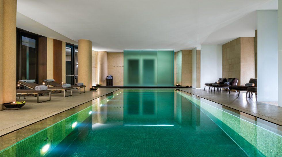 Bvlgari Luxury Hotel Milano - Milan, Italy - Bvlgari Spa Swimming Pool