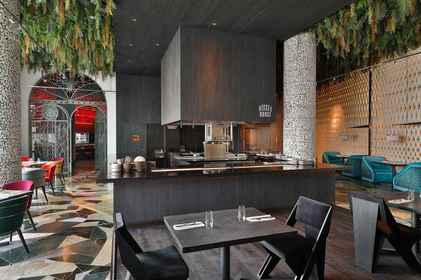 W Abu Dhabi Yas Island Luxury Hotel - Abu Dhabi, UAE - Garage Restaurant