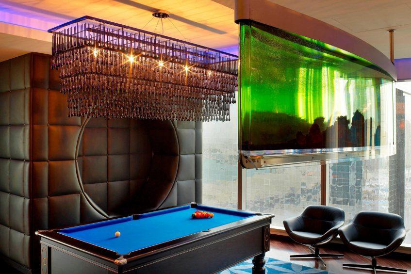 W Doha Luxury Hotel - Doha, Qatar - E WOW Suite Pool Table