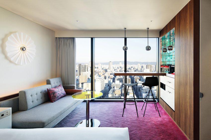 W Osaka Luxury Hotel - Osaka, Japan - Wonderful King Living Area