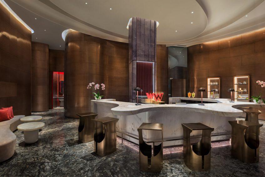 W Xi'an Luxury Hotel - Xi'an, Shaanxi Province, China - Spa Reception