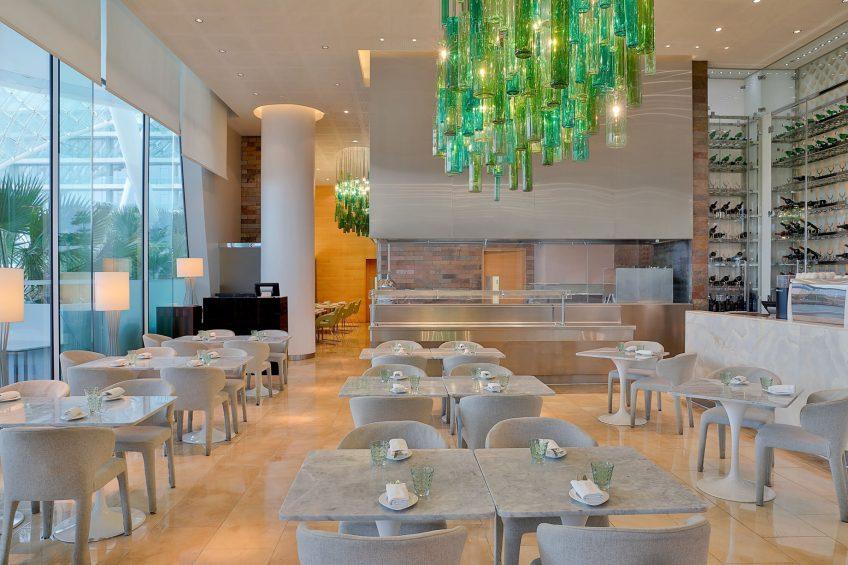 W Abu Dhabi Yas Island Luxury Hotel - Abu Dhabi, UAE - Amici Restaurant