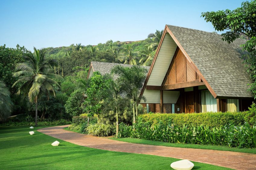 W Goa Vagator Beach Luxury Resort - Goa, India - Marvelous Garden Chalet Exterior