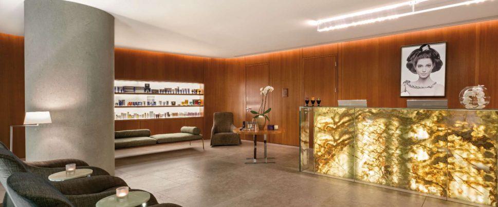 Bvlgari Luxury Hotel London - Knightsbridge, London, UK - Bvlgari Spa Entrance Lobby