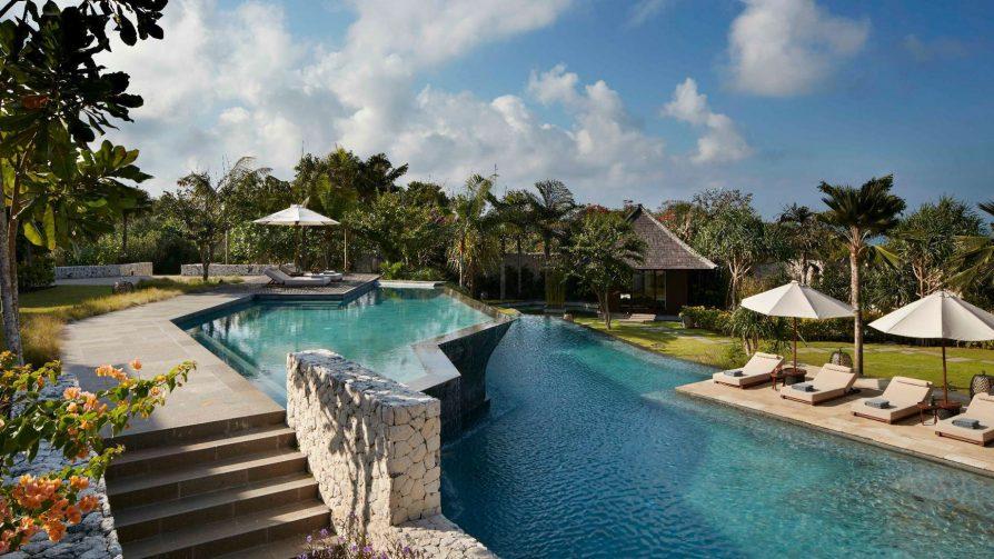 Bvlgari Luxury Resort Bali - Uluwatu, Bali, Indonesia - The Mansions Pool Decks