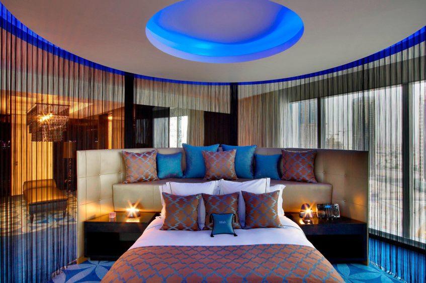 W Doha Luxury Hotel - Doha, Qatar - E WOW Suite Bedroom 1