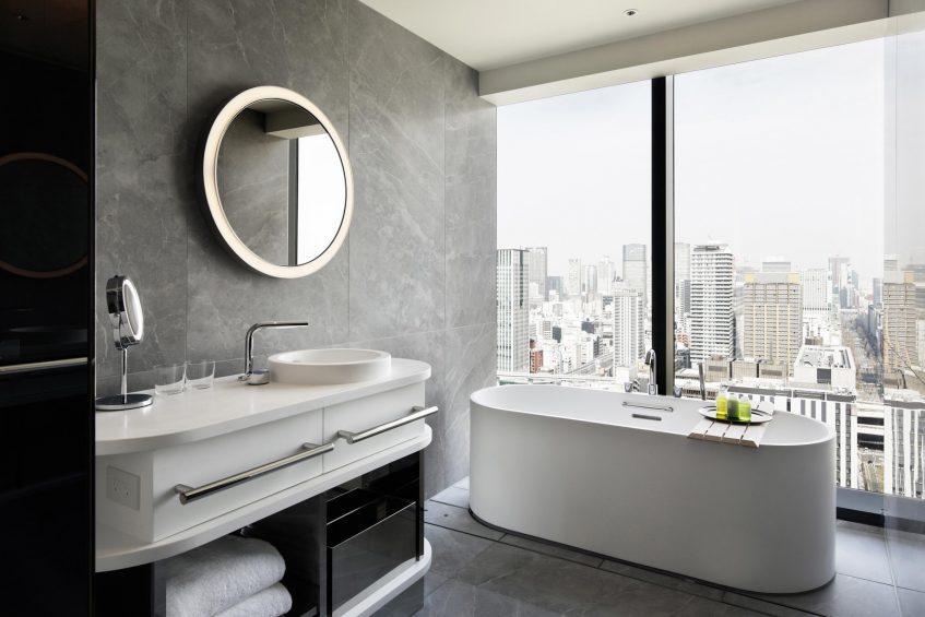 W Osaka Luxury Hotel - Osaka, Japan - Spectacular King Bathroom
