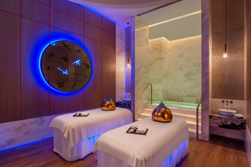 W Xi'an Luxury Hotel - Xi'an, Shaanxi Province, China - AWAY SPA Couple Therapy Room