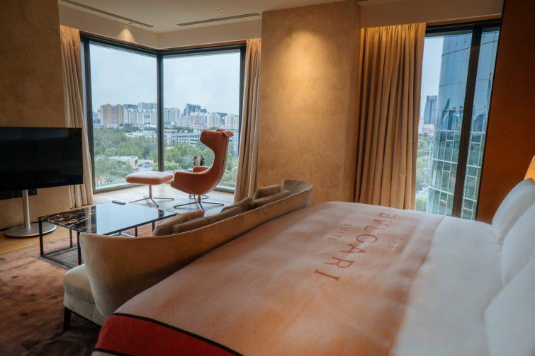 Bvlgari Luxury Hotel Beijing - Beijing, China - Bulgari Suite Bedroom