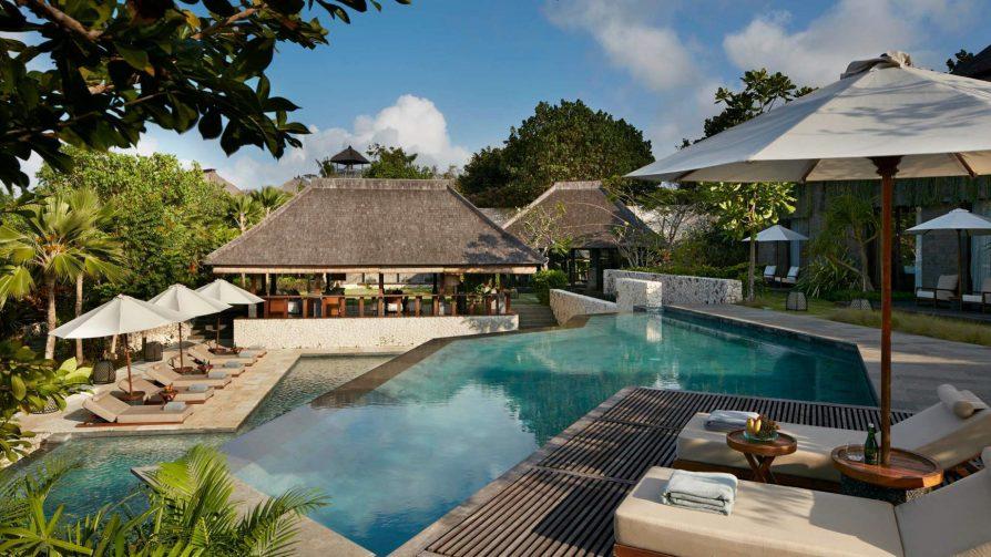 Bvlgari Luxury Resort Bali - Uluwatu, Bali, Indonesia - Pool Courtyard Area