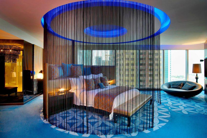 W Doha Luxury Hotel - Doha, Qatar - E WOW Suite Bedroom