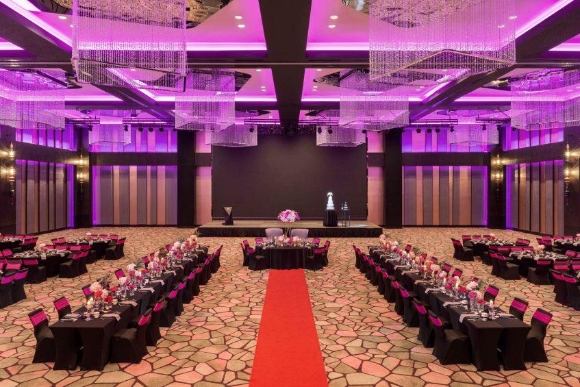 W Kuala Lumpur Luxury Hotel - Kuala Lumpur, Malaysia - Great Room Wedding