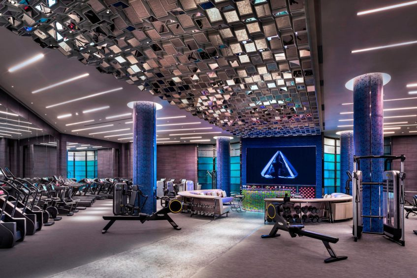 W Xi'an Luxury Hotel - Xi'an, Shaanxi Province, China - FIT Gym