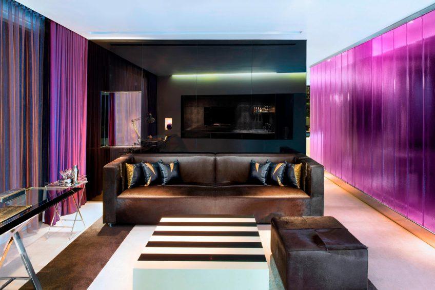 W Bangkok Luxury Hotel - Bangkok, Thailand - Marvelous Suite Living Area